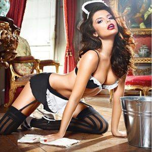 Completo Donna di Servizio Francese Dirty Laundry S/M Baci