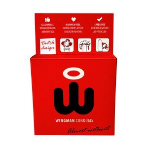 Preservativi Wingman 3 Unità W